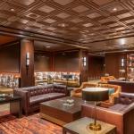 Classic Woodgrain Panel Ceiling Tile, TL-0037, black, plaster, artisan, ornamental, GRG, GFRG, Hotel, Whiskey Lounge, Bar